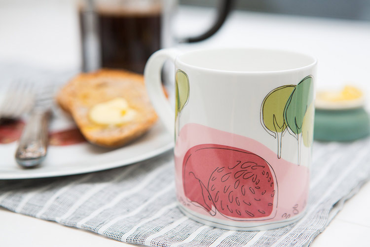 Mug, Product Photography, Dublin, Fawn, breakfast