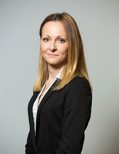 headshot, grey, business woman, corporate