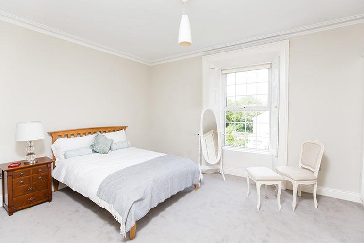 bedroom, Property photographer, Dublin, Ireland, bedside table, mirror