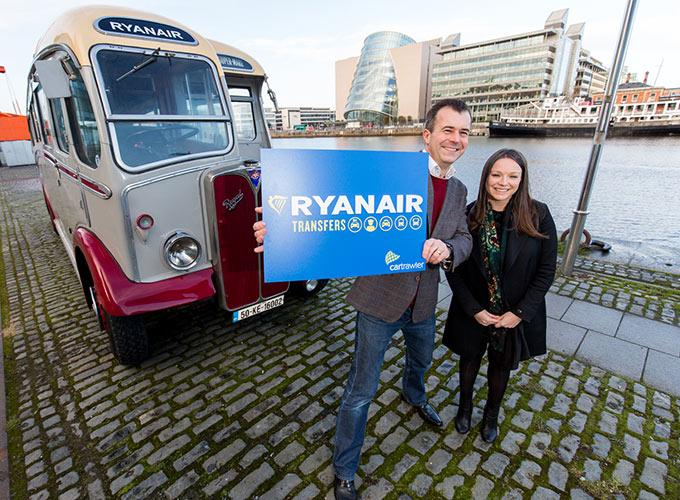 Press call, photo call, Pr, Public Relations, Ryanair, Cartrawler, Quays,