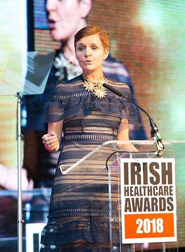 Dr Pixie Mckenna, Irish Healthcare Awards
